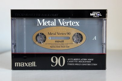 Maxell Metal Vertex, C-90. Produced 1990-1992