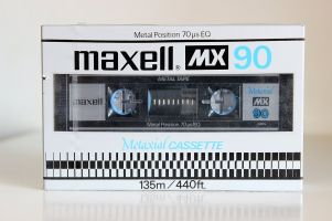 Maxell MX C-90, 1981 version