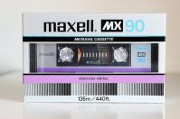 Maxell MX C-90, 1983 version