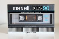 Maxell XLI-S C-90, 1983 version.