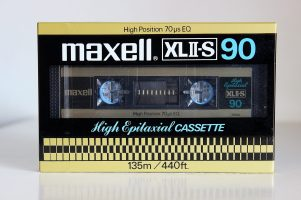 Maxell XLII-S C-90, 1981 version