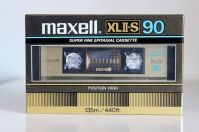Maxell XLII-S C-90, 1983 version.
