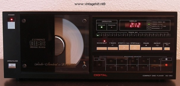 Fisher AD-850