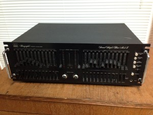 ADC paragraphic stereo equalizer sound shaper three model ss-3 MKII MK2