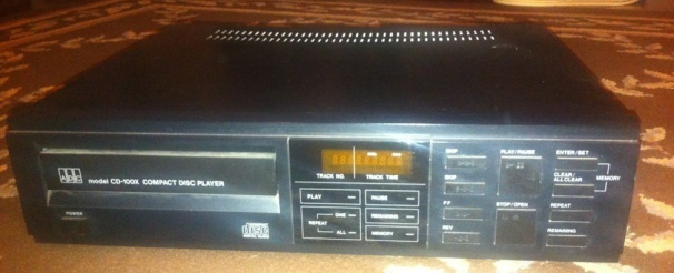 ADC Stereo Compact Disc CD Player CD-100X