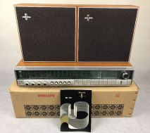 hilips Hifi Stereo Amplifier RH702 & Speakers Boxed