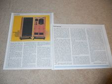 IMF Professional Monitor Speaker Review, 1983