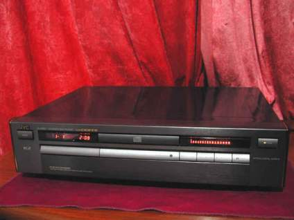 Jvc cd-xl-z1050 high end speler