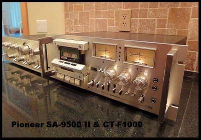 PIONEER SA-9500II CT-F1000