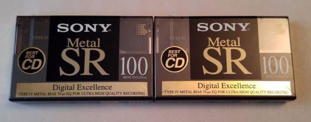 Sony Metal SR 100 Type IV