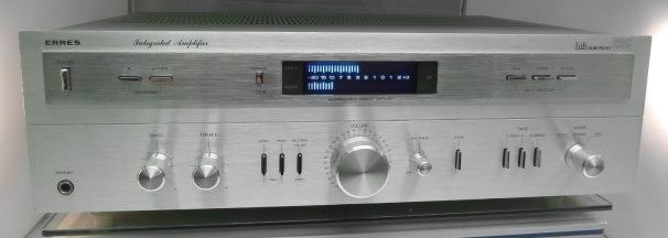 Erres SX 6395 vintage MFB stereo Verstärker